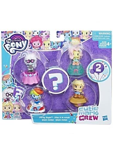 Hasbro Hasbro E0193 +3 Yaş My Little Pony Mark Crew Oyuncak Koleksiyon Seti Renkli